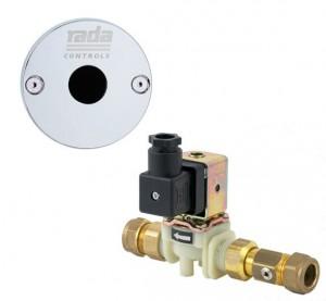 Rada Pulse sensor og magnetventil