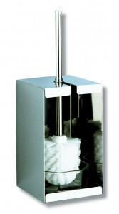 Toalettbørst rustfritt stål Delabie 448